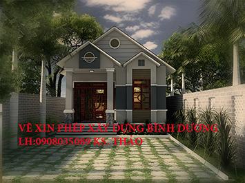 Giá xin giấy phép xây dựng nhà cấp 4 Bình Dương